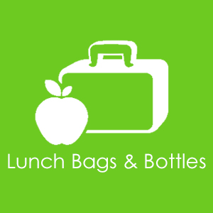 Lunch bags & bottles